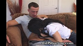 Mature Opens Her Legs For Another