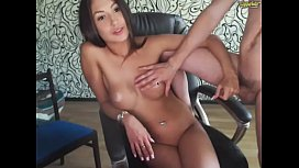 Sexy couple Blau9 from Chaturbate. Gorgeous natural tits white nipples and pussy