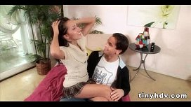 Little sister'_s tight pussy Amia Miley2 3  71