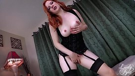 Pathetic Cum Slut -Femdom Lady Fyre CEI ass worship