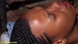 skinny hairy african teen brutal fucked