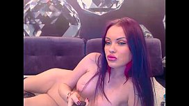 Russian Webcam Babe E CADA play with toys