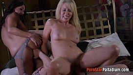 Erica Claudia And Wolf Threesome