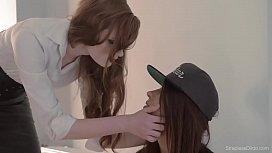 Lesbian girls strap-on