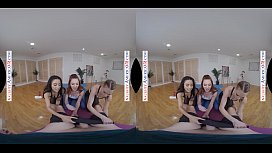 ASHLEY LANE,&nbsp_LACY LENNON, &amp_ MAYA BIJOU FUCK YOU IN YOGA CLASS