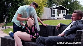 Private.com - Swinging Brit Misha Mayfair DP'_d By 2 Cocks!