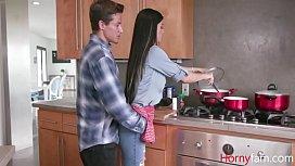 Dad Eats While Son Eats Mom For Breakfast- Melissa Lynn