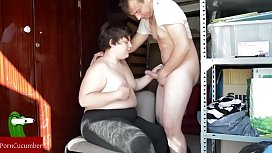Sucks and shut up fat woman in ha homemade and amateur vidCRI