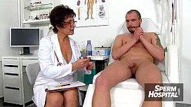 Huge boobs milf doctor Silvy Vee sexual harassement