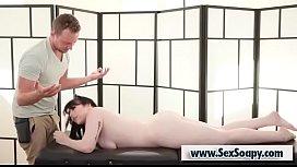 Chubby Amilia Onyx enjoys massage
