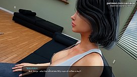 Rubbing a big cock between stepsister&#039_s petite thighs l My sexiest gameplay moments l Milfy City l Part #2