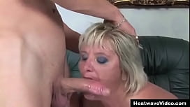 This pervert s. has got a fetish for older ladies, but he never would have imagined that his mom would want some y. cock as well!