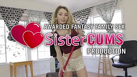 Annoying Sister Needs Brother Attention - SisterCums.com