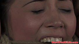 Petite sub Kristina Rose tit tortured
