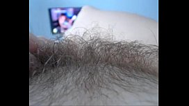 playing with hairy pussy  - combocams.com