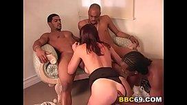 Anal Slut Brooke Gets Gangbanged by Black Cocks