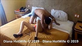 Diana Hotwife Sal&iacute_ a buscar verga y me ligue uno de 22
