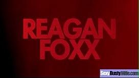 Hard Sex On Cam With Big Juggs Hot Wife (Reagan Foxx) mov-20