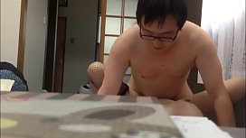 The korean fuckboy and his beautiful wife have sex in room   http://cdrs2001.hatenablog.com/