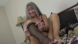 Milf Teases You With Her Delectable Feet