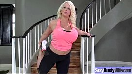Sex Action With Big Round Boobs Housewife (alura jenson) video-03
