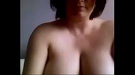 Chubby Big Boobs MILF Masturbates on MILFWebcamShow.com