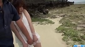 Mayuka Akimoto shows off her hairy twat in outdoor scenes - More at Javhd.net