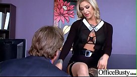 Busty Office Girl Kleio Valentien Get Hardcore Action Bang vid
