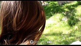 HD Fanta Alice March has wild outdoor sex