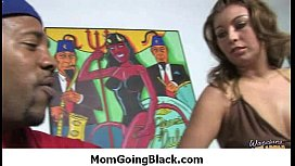MILF mommy rides black dong 20