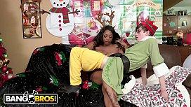 BANGBROS - All We Want For Christmas Is Rachel Raxx'_s Black Big Tits