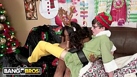 BANGBROS - All We Want For Christmas Is Rachel Raxx'_s Black Big Tits