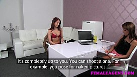 FemaleAgent Money is a great motivator for sexy caasting