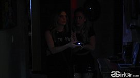 GirlGirl.com - The Haunted House Alina Lopez &amp_ Kristen Scott