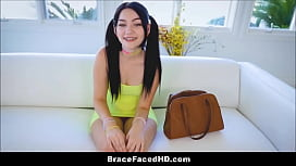 Cute Teen With Braces