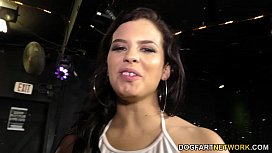 Keisha Grey enjoys gangbang - Interracial Blowbang xxx video