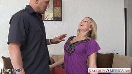 Superb blonde wife Shawna Lenee gets fucked