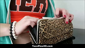 Hot Teen Red Head Creampie From PIzza Guy For PIzza Money