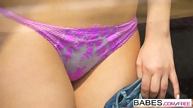Babes - Step Mom Lessons - Window Watching  starring  Nick Gill and Billie Star and Rebecca Volpetti