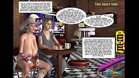 3D Comic: Uninhibited. Episode 14