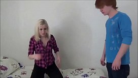 horny blonde babe fucks his friend at home fsd2