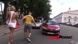 Russian Bitch Ivana Sugar picked up in the street & assfucked by a Monster cock! mompov charlotte