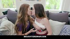Dad Dick For Lesbian Lovers- Audrey Hempburne &amp_ Lily Glee
