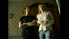 Mom Loves Having Fun In Bed With StepSon A ECAMSLUTScom