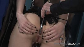 BDSM With Hot Young Sasha Grey &amp_ A Big Black Cock!