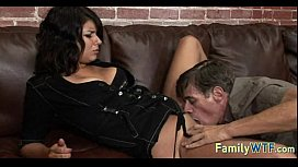 Mom and daughter threesome 0474