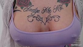 Boobs Godess Tattoo Redhead Anna Bell Peaks Takes Advantage of Step Son
