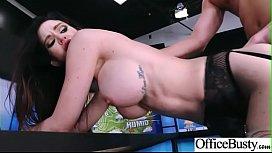 Kendall Karson Busty Girl In Hard e Sex In Office clip