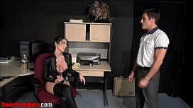 Fucked Over The Desk by His Boss PREVIEW xxx video