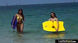 (Jenna Sativa &amp_ Liza Rowe) Teen Lesbians Play In Hot Act movie-16